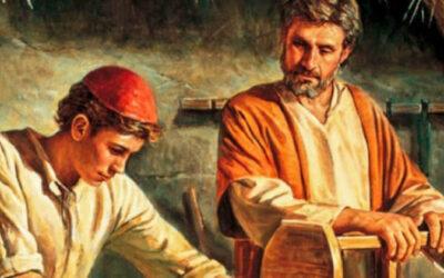 Powstaje figura św.Józefa….